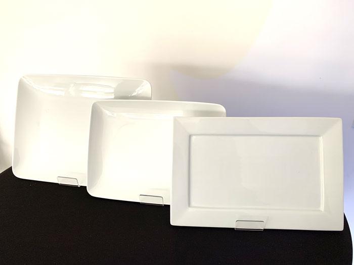 assistance location, gamme assiette rectangle, location vaisselle à rendre non lavée, 44, 35